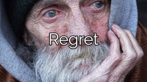 Addiction and Regret: Lost Opportunities, Lost Freedom and Wasted Time.