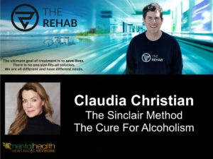 The Forgotten Pill: A Talk With Claudia Christian About TSM, And A Cure For Alcoholism.